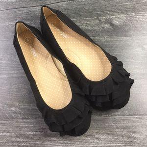 Cat & Jack Evelyn Ballet Flats Black
